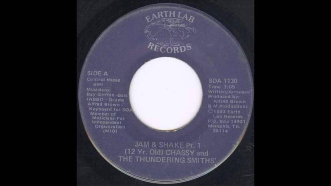 Chassy The Thundering Smiths Jam Shake