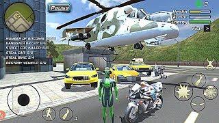 Rope Frog Ninja Hero - Strange Gangster Vegas #4 Taxi Driver | Android GamePlay HD