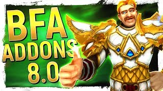 QUALITY OF LIFE: 24 Essential ADDONS for Battle for Azeroth - Improve Your WoW Setup!