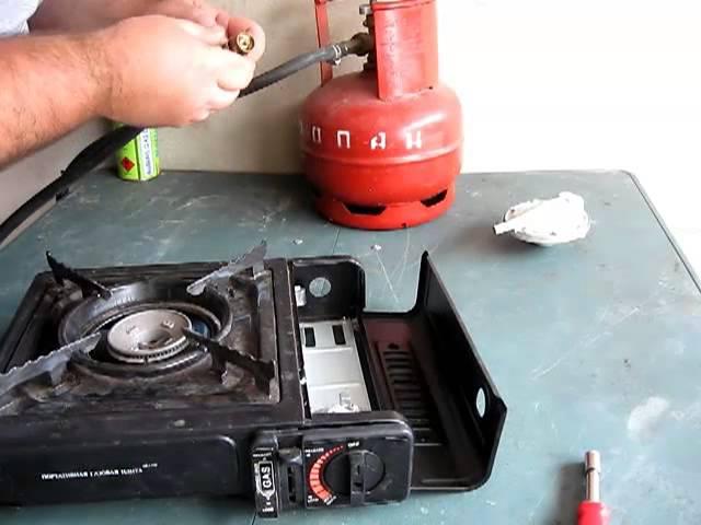 Газовая плита портативная своими руками 60