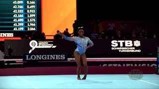 BILES Simone (USA) - 2019 Artistic Worlds, Stuttgart (GER) - Qualifications Floor Exercise