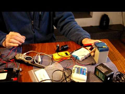 Emergency power sources for Emcoms and portable QRP
