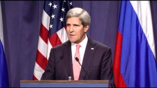 US-Russia Reach Agreement on Syria Weapons  9/14/13