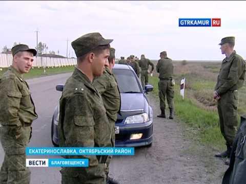 Взрыв танков в Екатеринославке