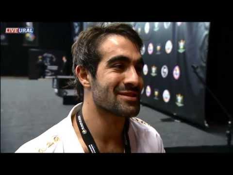 Интервью с победителем Рафаэлем Агаевым Karate1 Premier League