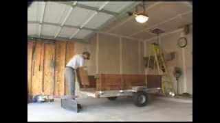 Spray foam diy attic lift