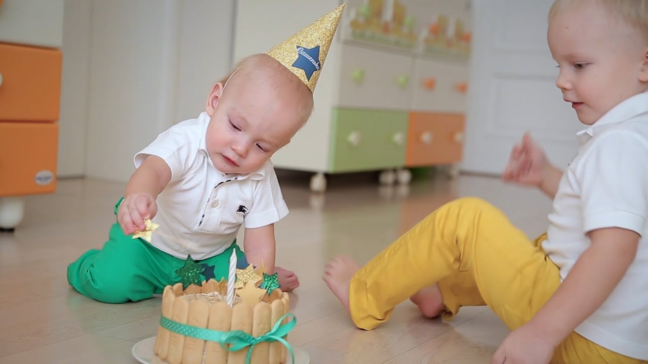 Фото детей на 1 день рождения
