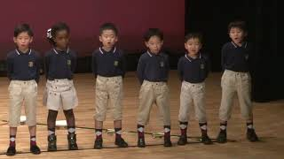 Kinder Kids Osaka bay Christmas Concert 2018 Music Class