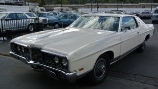 1972 Ford LTD Galixie 500 1 Owner Video Review Classic 429 V8 2DR Coupe For Sale