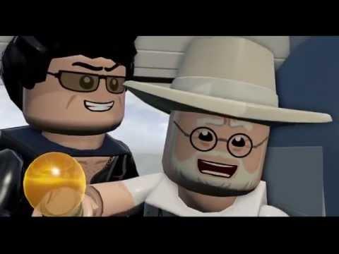 LEGO Jurassic World | Hilarious Jeff Goldblum laugh
