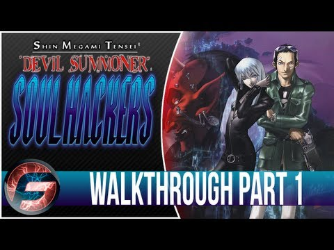Shin Megami Tensei Devil Summoner Soul Hacker Walkthrough Part 1 [3DS]