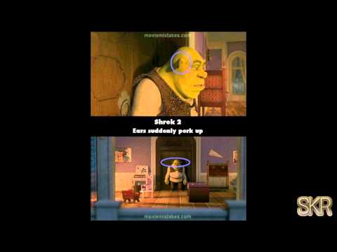 Movie Mistakes: Shrek 2 (2004)
