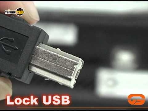 SEND-VICTORY CORPORATION : LOCK USB CABLE 昇文實業影音型錄.avi