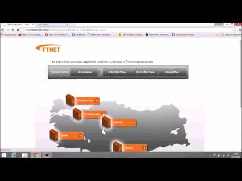 TTnet Hız Testi Nasıl Yapılır İzle