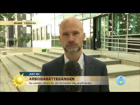 """Arbogarättegången: """"Blir svårt att döma expojkvännen till livstid"""" - Nyhetsmorgon (TV4)"""