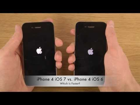 iPhone 4 iOS 7 vs. iPhone 4 iOS 6 - Which Is Faster?