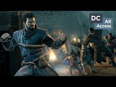 DC All Access - Ep 7 - Batman: Arkham Origins DLC, DC Library Tour and the Future of Aquaman