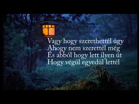 Árnyék és fény - Kowalsky meg a Vega (dalszöveg)