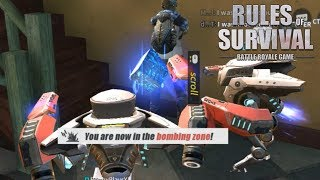 RETURN OF THE ROBOTS! Rules of Survival Droid Gameplay