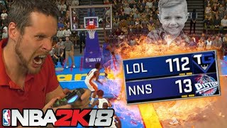 Biggest BLOWOUT Win in NBA 2K HISTORY!