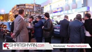 Կրակո՞ց Երևանում. անհայտ անձը «ՍԱՍ» սուպերմարկետի մոտ կրակել է Mercedes-ի վրա