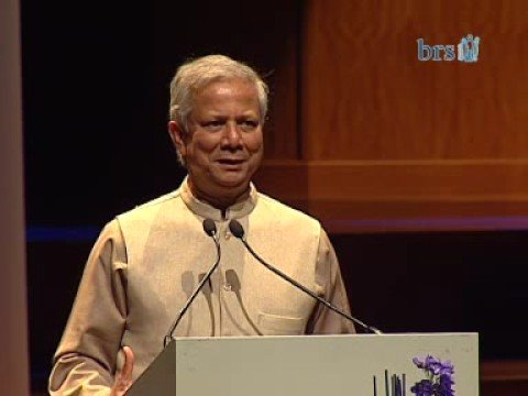 Yunus @ 15 years BRS part1 - The start of Grameen