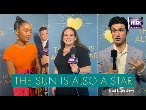 The Sun Is Also A Star's Yara Shahidi & Charles Melton Speak To FlickDirect
