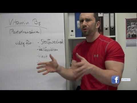 Vitamin B5 - Pantothensäure