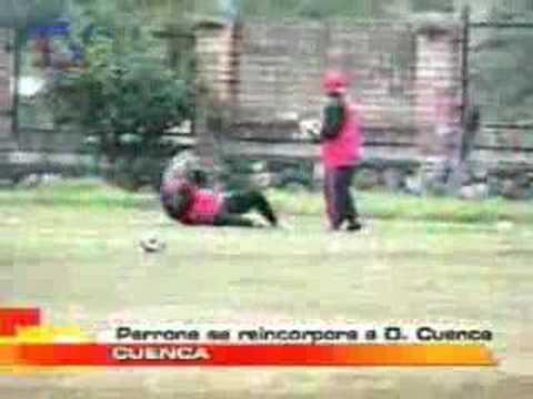 Perrone se reincorpora a D. Cuenca