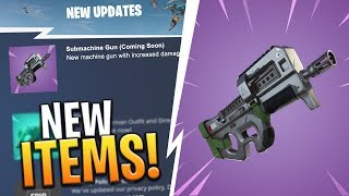 5 ITEMS UPDATES COMING! NEW TRAP, WEAPONS AND MORE LEAKS! - Fortnite: Battle Royale