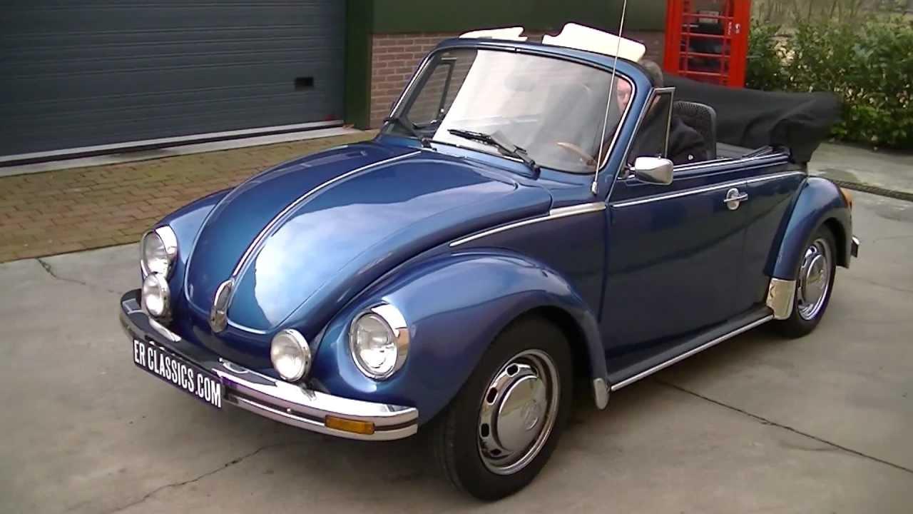 Volkswagen Beetle Ratings >> VW Beetle 1303 1975 - VIDEO - www.ERclassics.com - YouTube
