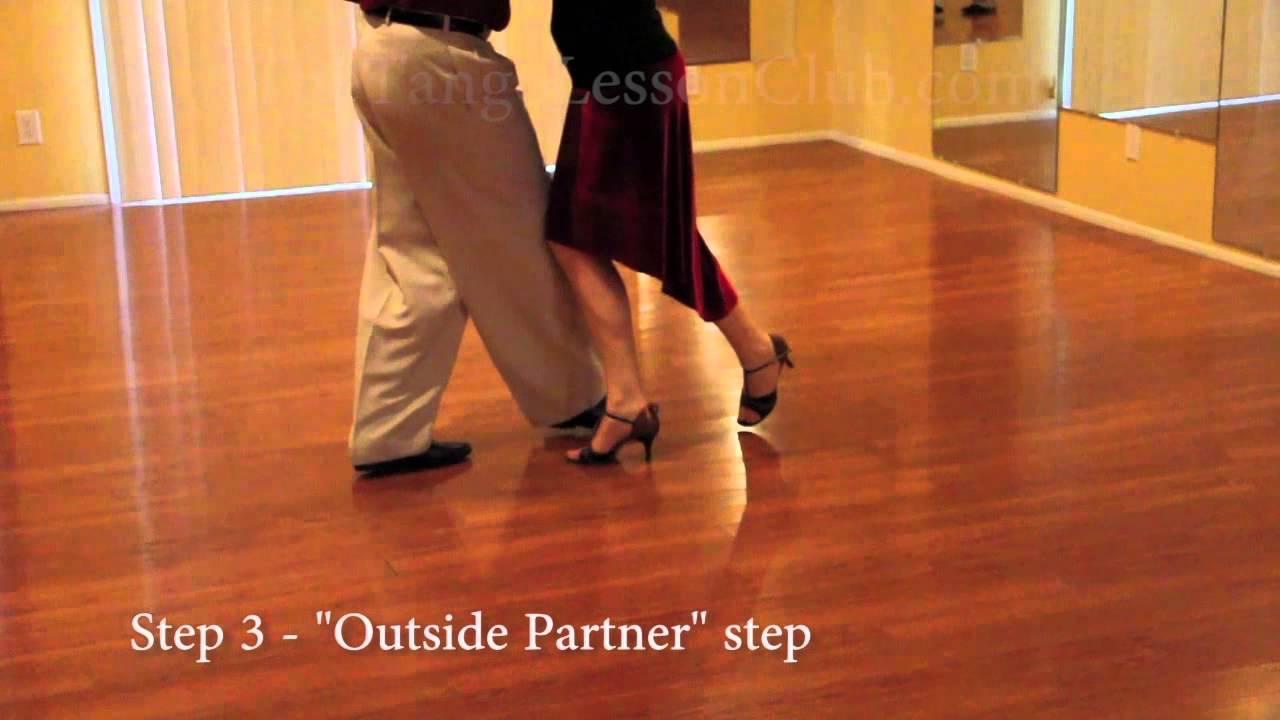 Argentine Tango 8 Step Basic With Instructions Youtube