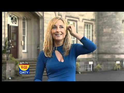 Fiona Phillips [GMTV] - That Little Blue Dress.