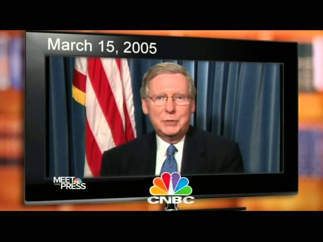 Senator McConnell Calls for Rules Reform