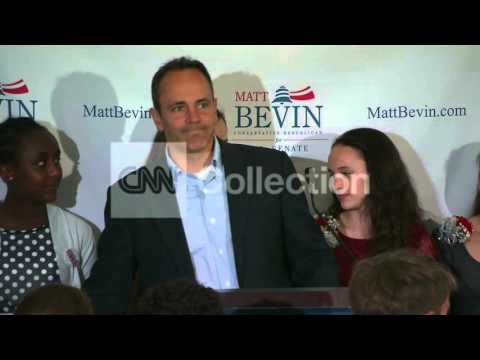 KY GOP SEN PRIMARY-BEVIN WALK UP