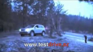 Chevrolet Captiva оффроад тест-драйв