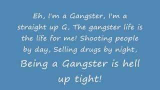 Rappy McRapperson - The Gangster Song [Lyrics]