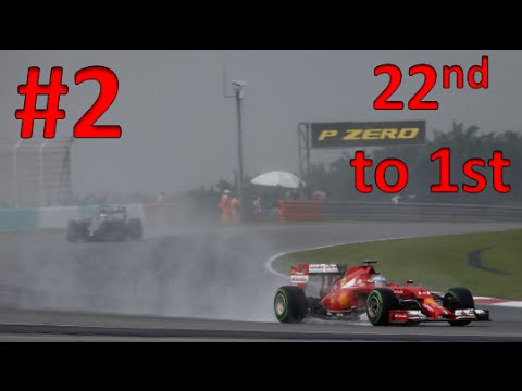 F1 2015 | FERNANDO ALONSO CAREER MODE LAST TO FIRST | PART 2 MALAYSIA | POST COMMENTARY