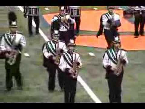 (Robin Hood: Prince of Thieves) Part 1 of 2 Westmoreland Marching Band at Syracuse Dome