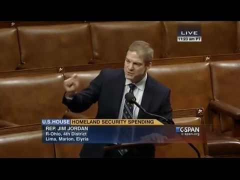 Rep. Jordan on DHS funding bill and President Obama's executive amnesty
