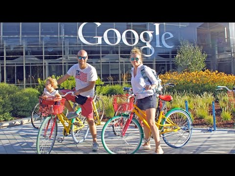 Visitamos Google en Silicon Valley. California en coche