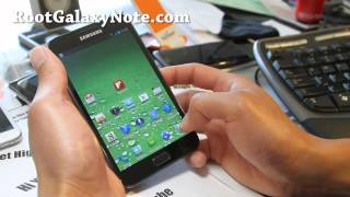 How to Overclock ICS on Rooted Galaxy Note GT-N7000!