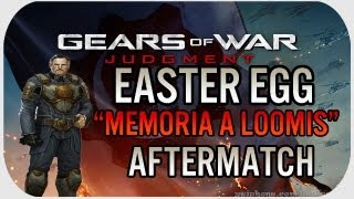 Gears Of War Judgment: Easter Egg - En Memoria al Coronel Loomis #GearsReaper