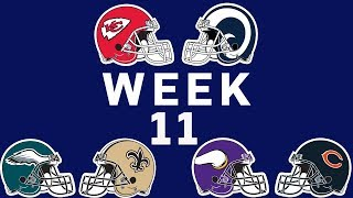 NFL Week 11 Preview Show   NFL Network