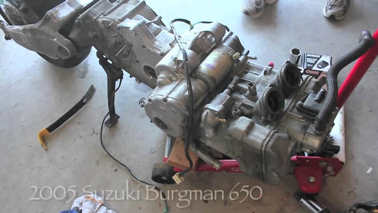 Suzuki Burgman Problems