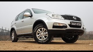 SSYANGYONG REXTON BY MAHINDRA 2014 A/T [ SOLD , NOT IN STOCK NOW ]