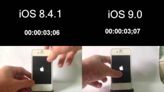iOS 8.4.1 vs iOS 9 - iPhone 4S