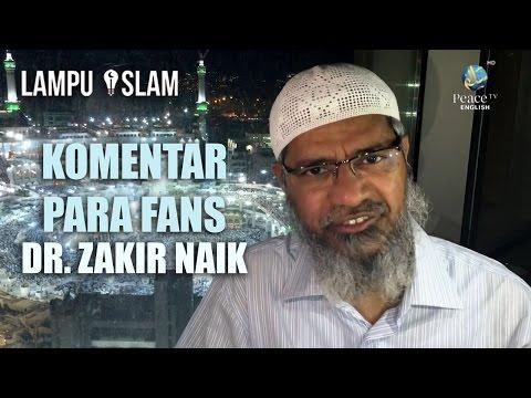 Dr. Zakir Naik Membacakan Komentar Para Fans Terkait Insiden Bangladesh