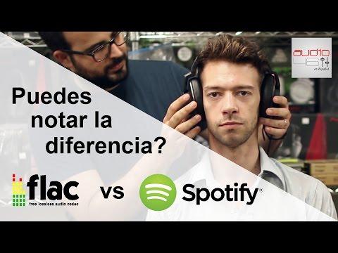 SPOTIFY vs FLAC Escucha a ciegas. Puedes notar la diferencia?