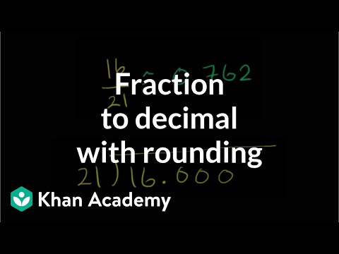 Converting fractions to decimals (ex1)